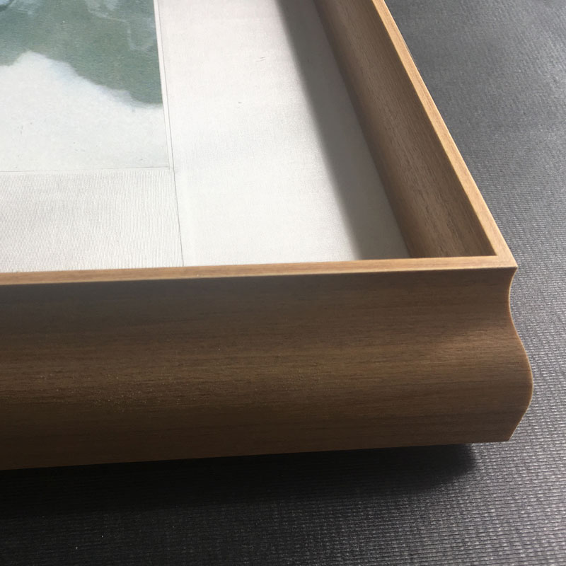 有造型实木框